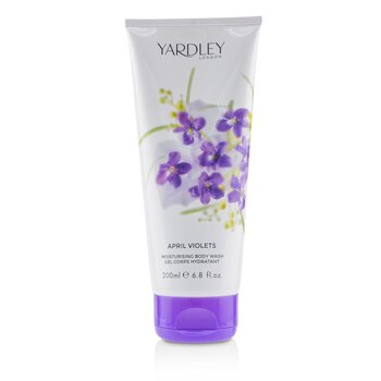 April Violets Moisturising Body Wash  200ml/6.8oz