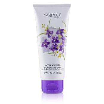 April Violets Nourishing Hand Cream  100ml/3.4oz