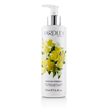 English Freesia Silky Smooth Body Lotion 250ml/8.4oz