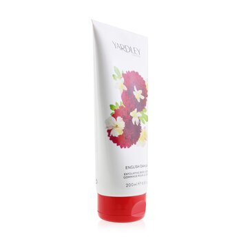 English Dahlia Exfoliating Body Scrub  200ml/6.8oz