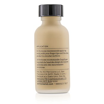 No Makeup Foundation SPF 30  30ml/1oz