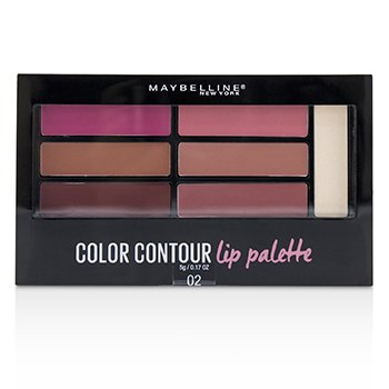 Color Contour Lip Palette  5g/0.17oz