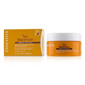 Tan Maximizer Regenerating Milky-Gel After-Sun For Sun-Sensitive Skin - Luminous Lasting Tan  200ml/6.7oz