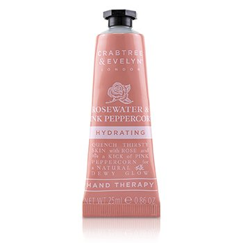 Rosewater & Pink Peppercorn Hydrating Hand Therapy  25ml/0.86oz