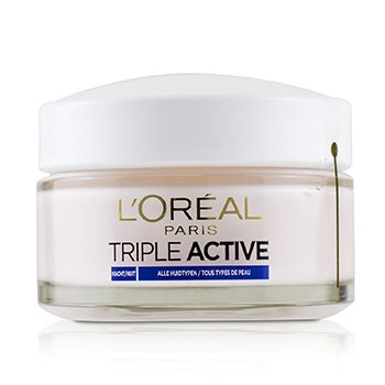 Triple Active Hydrating Night Cream 24H Hydration - For All Skin Types  50ml/1.7oz