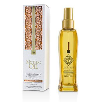 Professionnel Mythic Oil Shimmering Oil with Sesame & Almond Oils (Body & Hair) 100ml/3.4oz