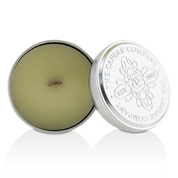 Tin Can 100% Beeswax Candle with Wooden Wick - Green Seas (sea salt, sage & white cedar)