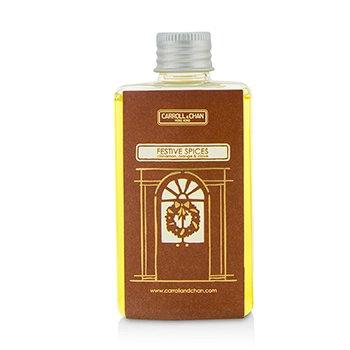 Diffuser Oil Refill - Festive Spices (Cinnamon, Orange & Clove) 100ml/3.38oz
