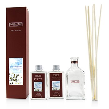 擴香瓶-白棉花(含擴香棒) Reed Diffuser-Clean Cotton  200ml/6.76oz