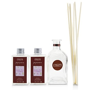擴香瓶-茉莉, 玫瑰與小紅莓(含擴香棒) Reed Diffuser - Jasmine, Rose & Cranberry  200ml/6.76oz