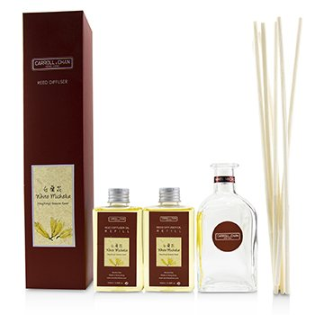 擴香瓶-白蘭花(含擴香棒) Reed Diffuser - White Michelia  200ml/6.76oz