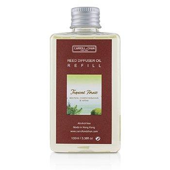 擴香瓶補充罐-熱帶雨林 Reed Diffuser Refill- Tropical Forest  100ml/3.38oz