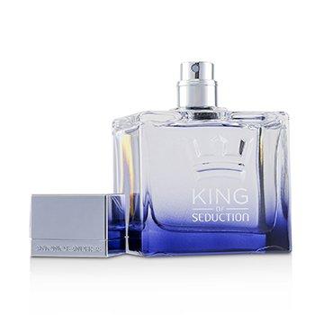 King Of Seduction Eau De Toilette Spray (Metal Case)  100ml/3.4oz