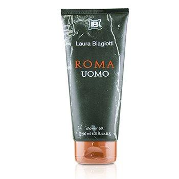 Roma Uomo Shower Gel (New Packing)  200ml/6.8oz
