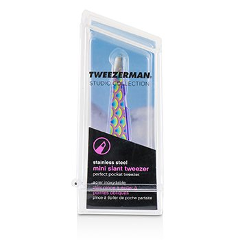 Pęseta Mini Slant Tweezer (Pattern Prints)  -