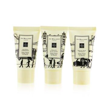 Hand Cream Collection: Lime Basil & Mandarin + English Pear & Freesia + Peony & Blush Suede  3x30ml/1oz