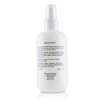 Dermal Wound Cleanser (with 21 Lint-Free Cosmetic Pads)  236ml/8oz