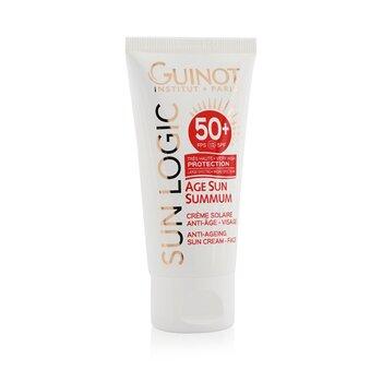Sun Logic Age Sun Summum Ant-Ageing Sun Cream For Face SPF 50+  50ml/1.7oz