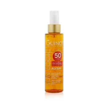 Sun Logic Age Sun Anti-Ageing Sun Dry Oil For Body SPF 50  150ml/5.07oz