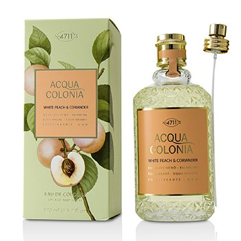 Acqua Colonia White Peach & Coriander Eau De Cologne Spray  170ml/5.7oz