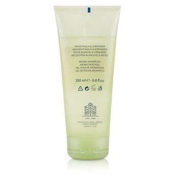 Acqua Colonia White Peach & Coriander Aroma Shower Gel  200ml/6.8oz
