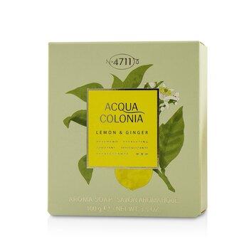 科隆之水 檸檬&生薑香氛皂Acqua Colonia Lemon & Ginger Aroma Soap  100g/3.5oz