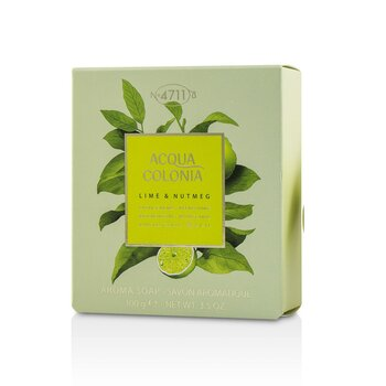 Acqua Colonia Lime & Nutmeg Aroma Soap 100g/3.5oz