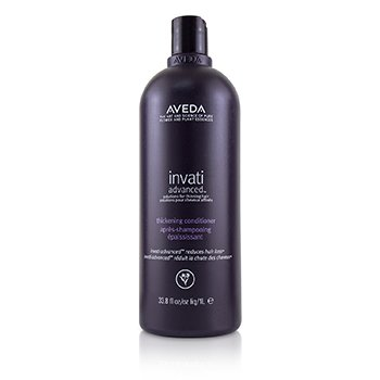 Invati Advanced Thickening Conditioner - Solutions For Thinning Hair, Reduces Hair Loss  1000ml/33.8oz