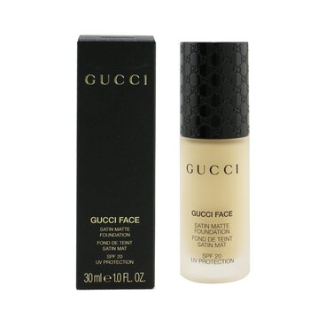 絲緞柔霧粉底液 Gucci Face Satin Matte Foundation SPF 20  30ml/1oz