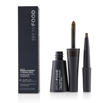 BrowFood Aqua Brow Powder + Pencil Duo  -