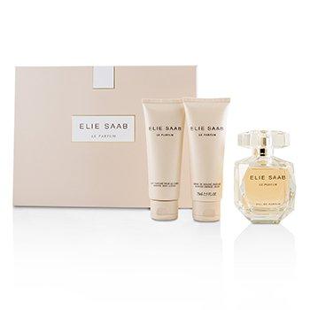 Le Parfum Coffret: Eau De Parfum Spray 90ml/3oz + Scented Body Lotion 75ml/2.5oz + Scented Shower Cream 75ml/2.5oz  3pcs
