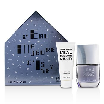 L'Eau Majeure d'lssey Coffret: Eau De Toilette Spray 50ml/1.6oz + Shower Gel 100ml/3.3oz  2pcs