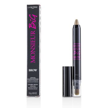 Monsieur Big Brow Chubby Brow Crayon With Blending Brush  1.5g/0.05oz