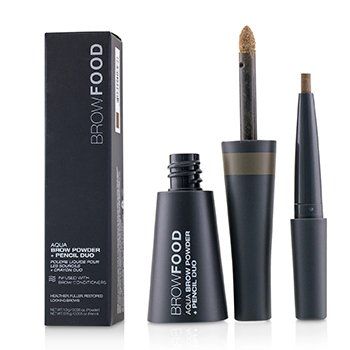 Puder + kredka do brwi BrowFood Aqua Brow Powder + Pencil Duo  -