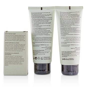 Elements Of Love Mud-Rich Moments Gift Set: Hand Cream 100ml + Foot Cream 100ml + Purifying Mud Soap 100g  3pcs