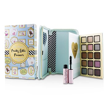 Paleta do makijażu Pretty Little Planner Best Year Ever 2018 : (15x cień do powiek, 1x tusz do rzęs)  -