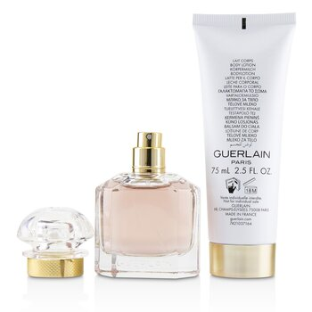 Mon Guerlain Coffret: Eau De Parfum Spray 30ml/1oz + Perfumed Body Lotion 75ml/2.5oz  2pcs