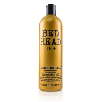 Bed Head Colour Goddess Oil Infused Shampoo - For Coloured Hair (Cap)  750ml/25.36oz