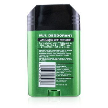 Brut Deodorant Stick  63g/2.25oz