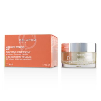 Nutri-Reve Essentiel Nuit Ultra-Regenerating Cream Balm - For All Skin Types to Sensitive Skin  50ml/1.7oz