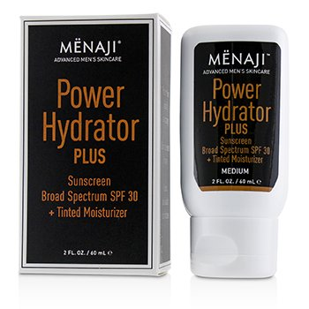 Power Hydrator Plus Sunscreen Broad Spectrum SPF 30 + Tinted Moisturizer (Medium)  60ml/2oz