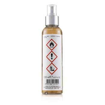 Natural Scented Home Spray - Incense & Blond Woods  150ml/5oz