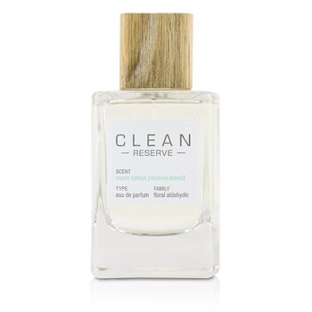 Clean Warm Cotton (Reserve Blend) 溫暖棉花女性淡香精 100ml/3.4oz