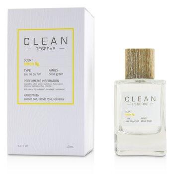 Clean Citron Fig (Reserve Blend) 中性淡香精  100ml/3.4oz