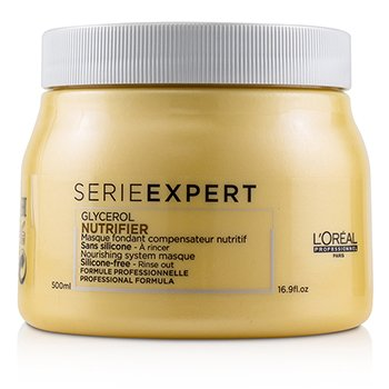 Professionnel Serie Expert - Nutrifier Glycerol Nourishing System Silicone-Free Masque  500ml/16.9oz