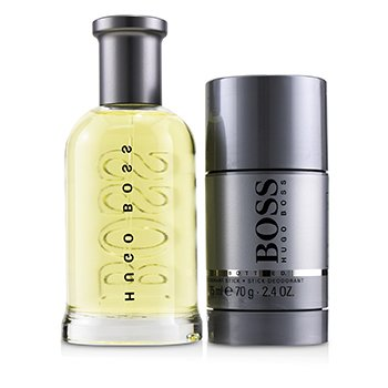 Boss Bottled Coffret: Eau De Toilette Spray 100ml/3.3oz + Deodorant Stick 70g/2.4oz  2pcs