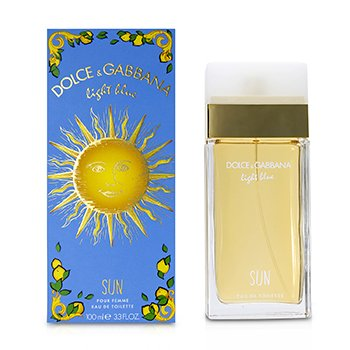 Light Blue Sun Eau De Toilette Spray  100ml/3.3oz
