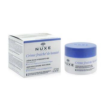 Creme Fraiche De Beaute 48HR Moisturising Rich Cream - For Dry To Very Skin, Even Sensitive  50ml/1.7oz
