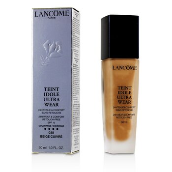零粉感24H持久粉底 SPF 15 Teint Idole Ultra Wear 24H Wear & Comfort Foundation SPF 15  30ml/1oz