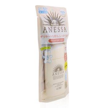 Anessa Perfect UV Sunscreen Mild Milk SPF 50+ (For Sensitive Skin) 60ml/2oz